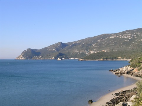 The Arrabida coast just south of Lisbon in February.