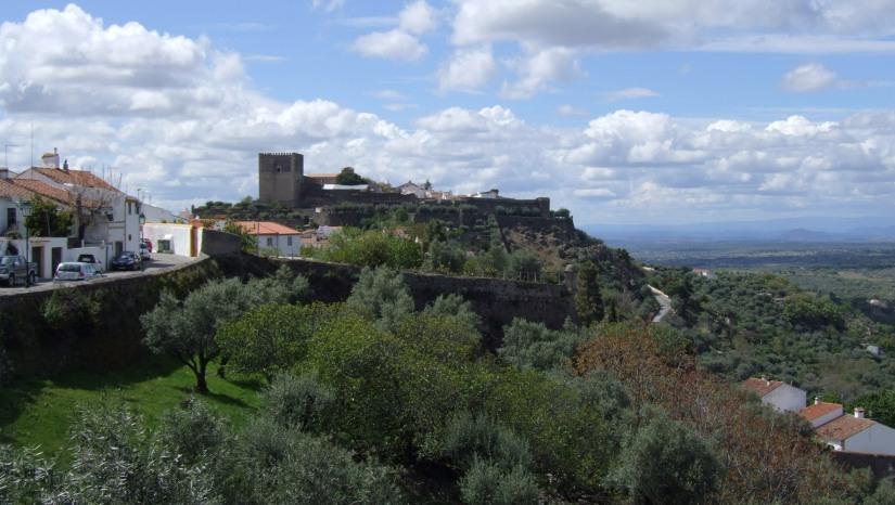 Castelo de Vide - looking towards Nisa