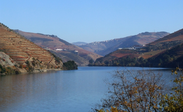 The Douro valley in the autumn