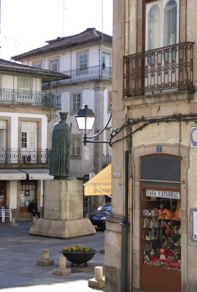 The old centre of Viseu