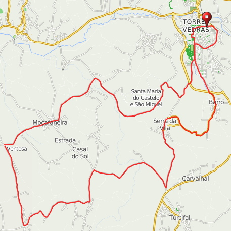 Click on the map for directions or to download as a .gpx file etc