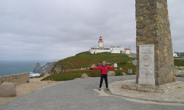 Cabo da Roca - mainland Europe's most westerly point is only a short ride from Lisbon.