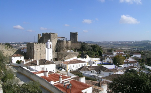 Obidos - walled hilltop town with oodles of charm.