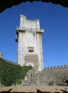 The Torre de Menagem inside Beja's Castelo