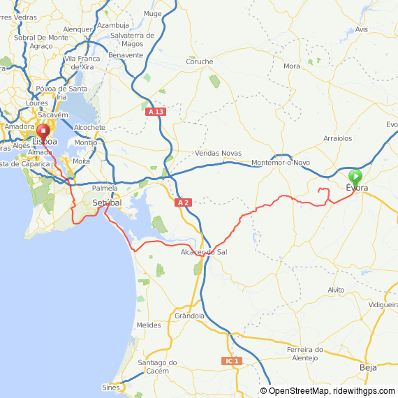 Click on the map for more details or to download as a .gpx file etc