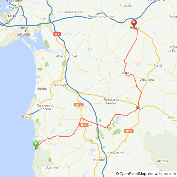 Click on the map for more details and to download as .gpx file etc