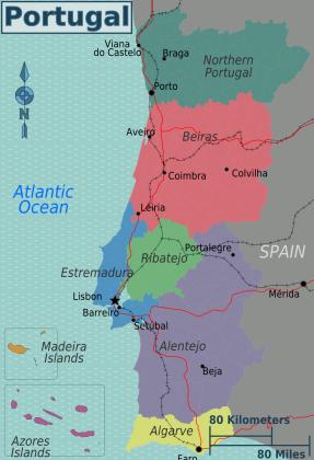 Portugal_regions_map
