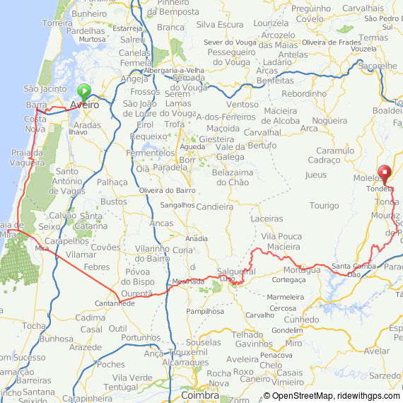 Click on the map for further details and to download as .gpx file etc