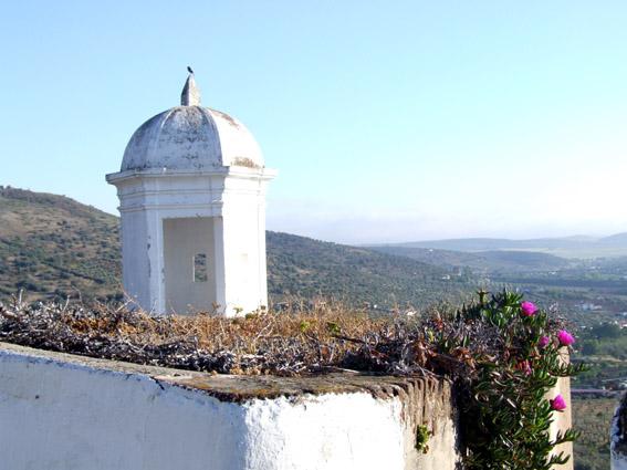 Looking towards Spain from the walls of Elvas