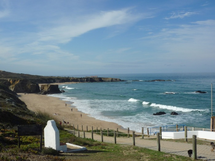 Spectacular beaches - the Atlantic coast at Almograve