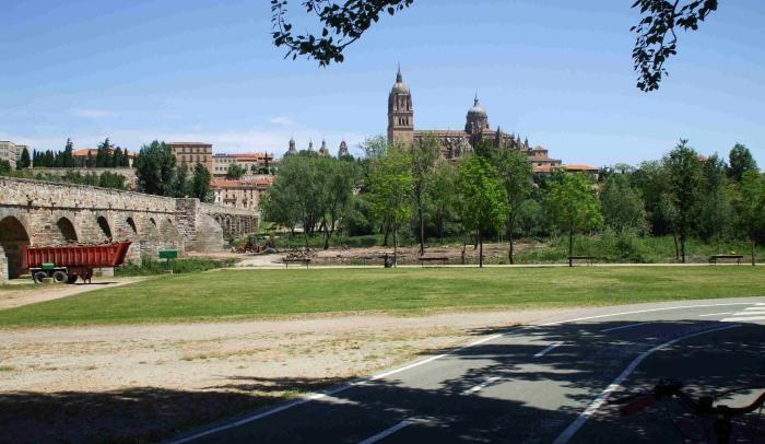 Part of the cycleway at Salamanca