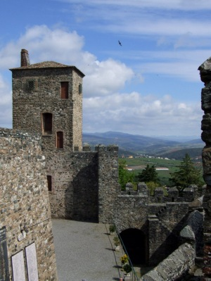 View from the castle at Braganca