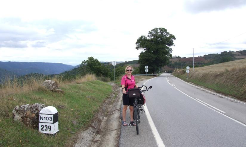On the N103 at Vilaverde