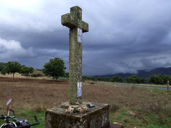 Wayside cross in the Montesinho hills