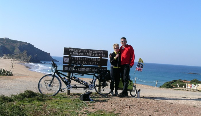 Taken in early February 2005, this was our first introduction to cycling in the Algarve