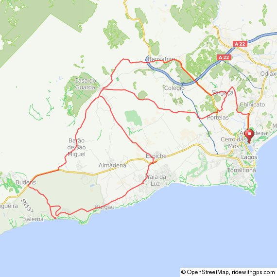 Click on the map for details and to download as .gpx file etc