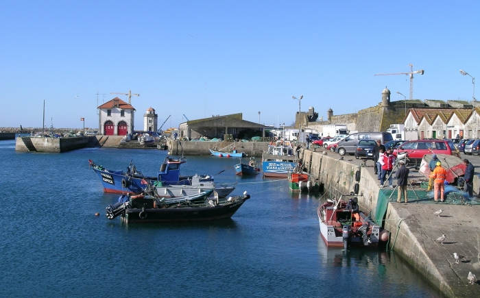 The quayside in Viana do Castelo - end point for the Northern Portugal trip