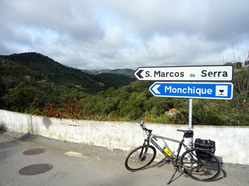 On the way to Monchique - first day of the touring circuit