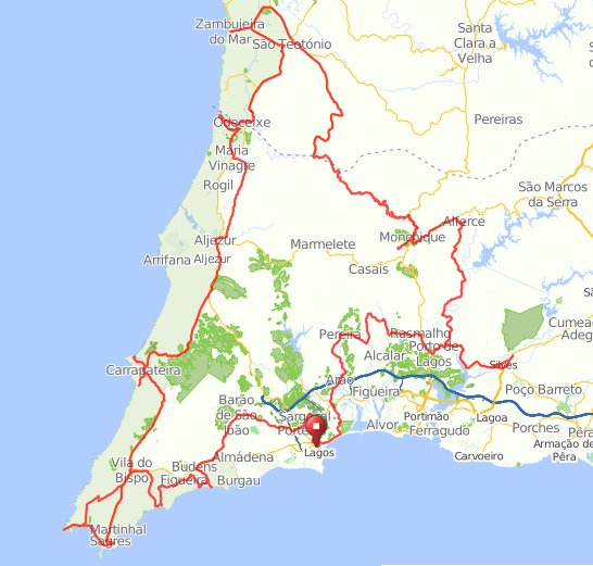 Algarve Winter route