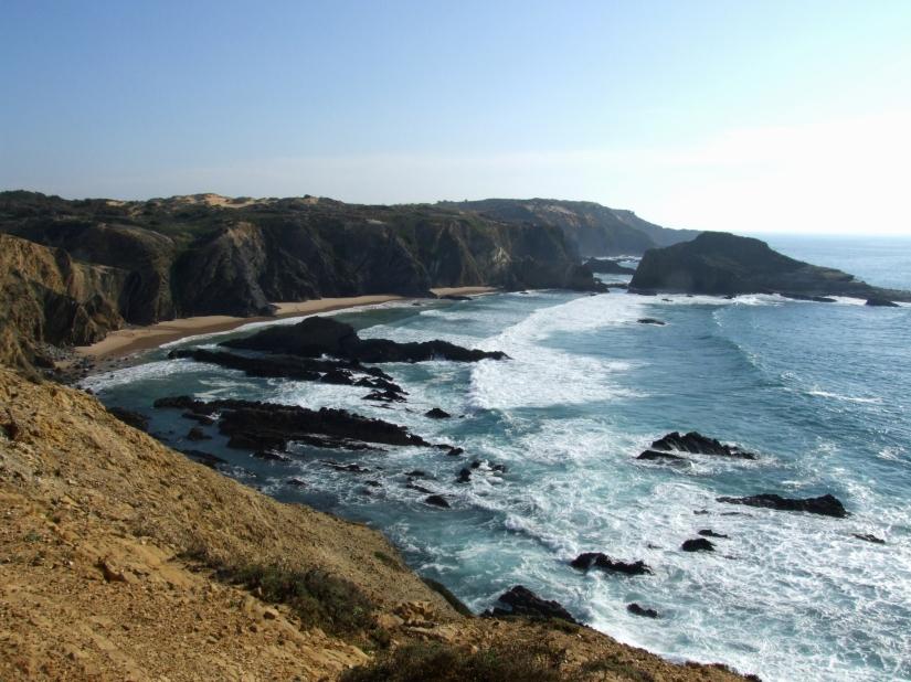 Rocky coastline near Zambujeira do Mar
