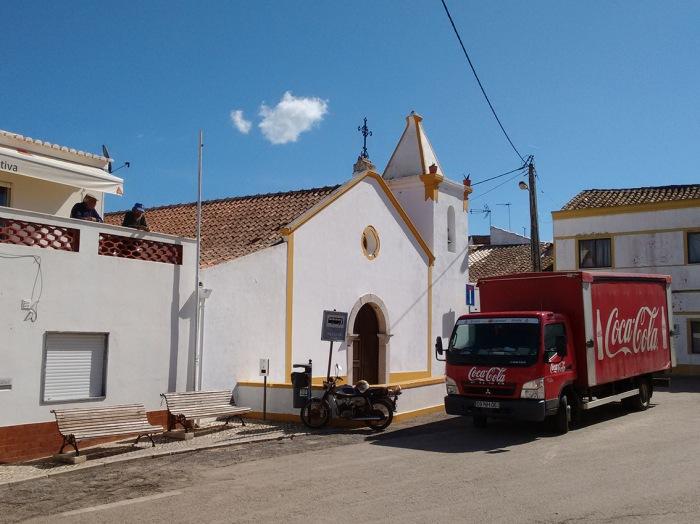 Street scene in Sao Barao de Joao